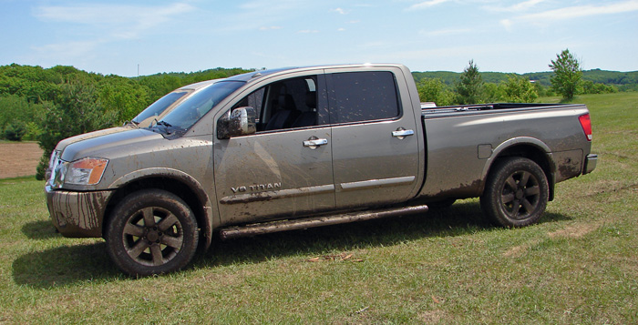 Nissan Titan 2008 Longbed Catchup