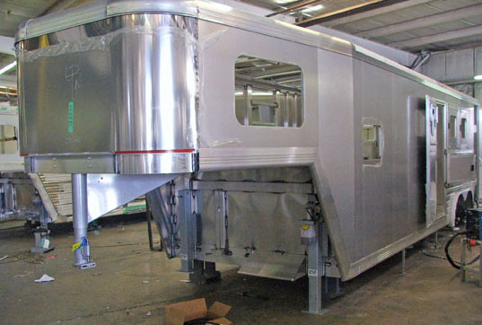 Cimarron Custom Aluminum Horse Trailers Made In Usa