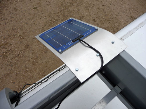 Rv Solar Battery Charger System : Quot solar battery maintenance charging and