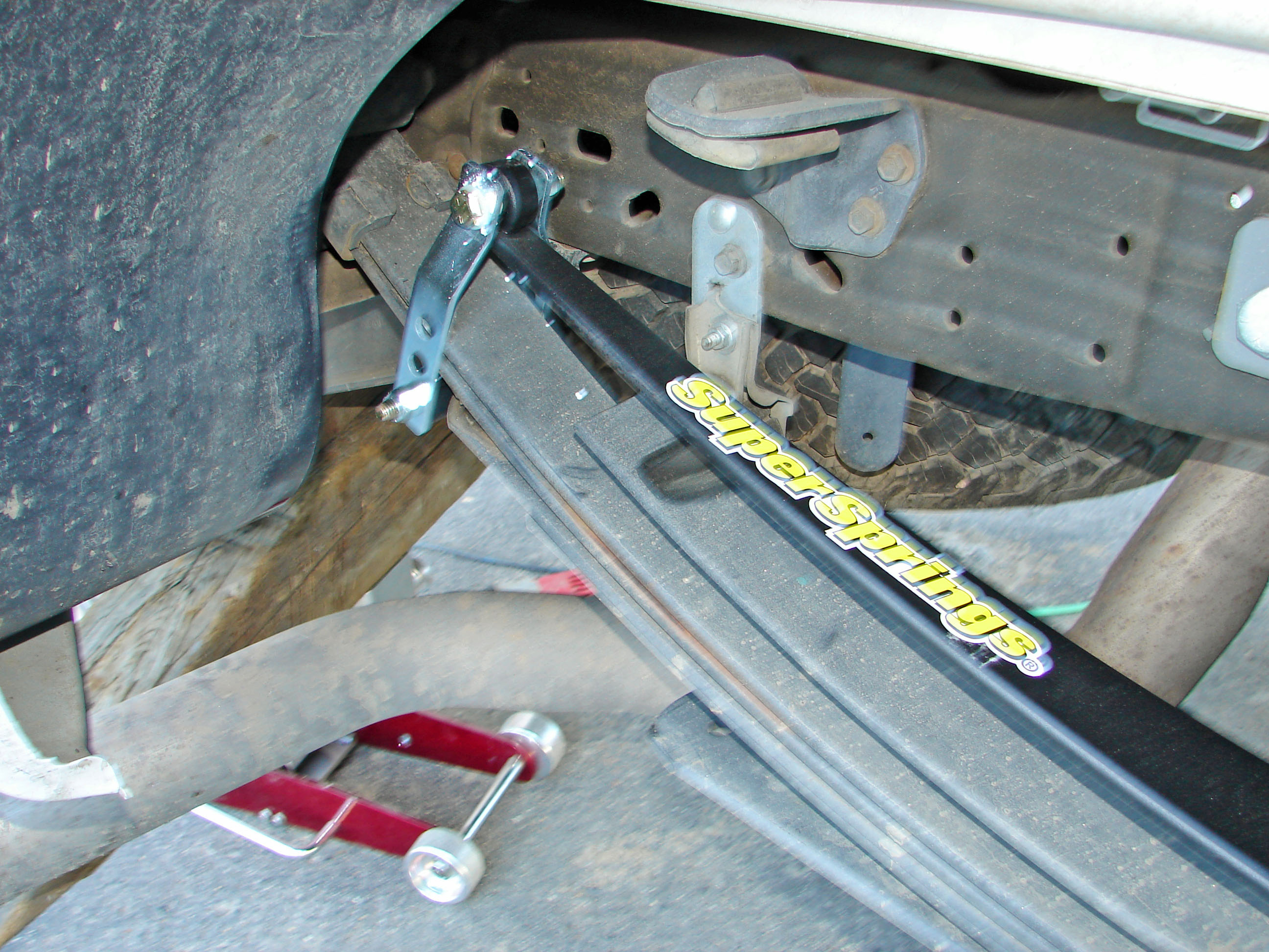 supersprings truck helper springs review and comparison