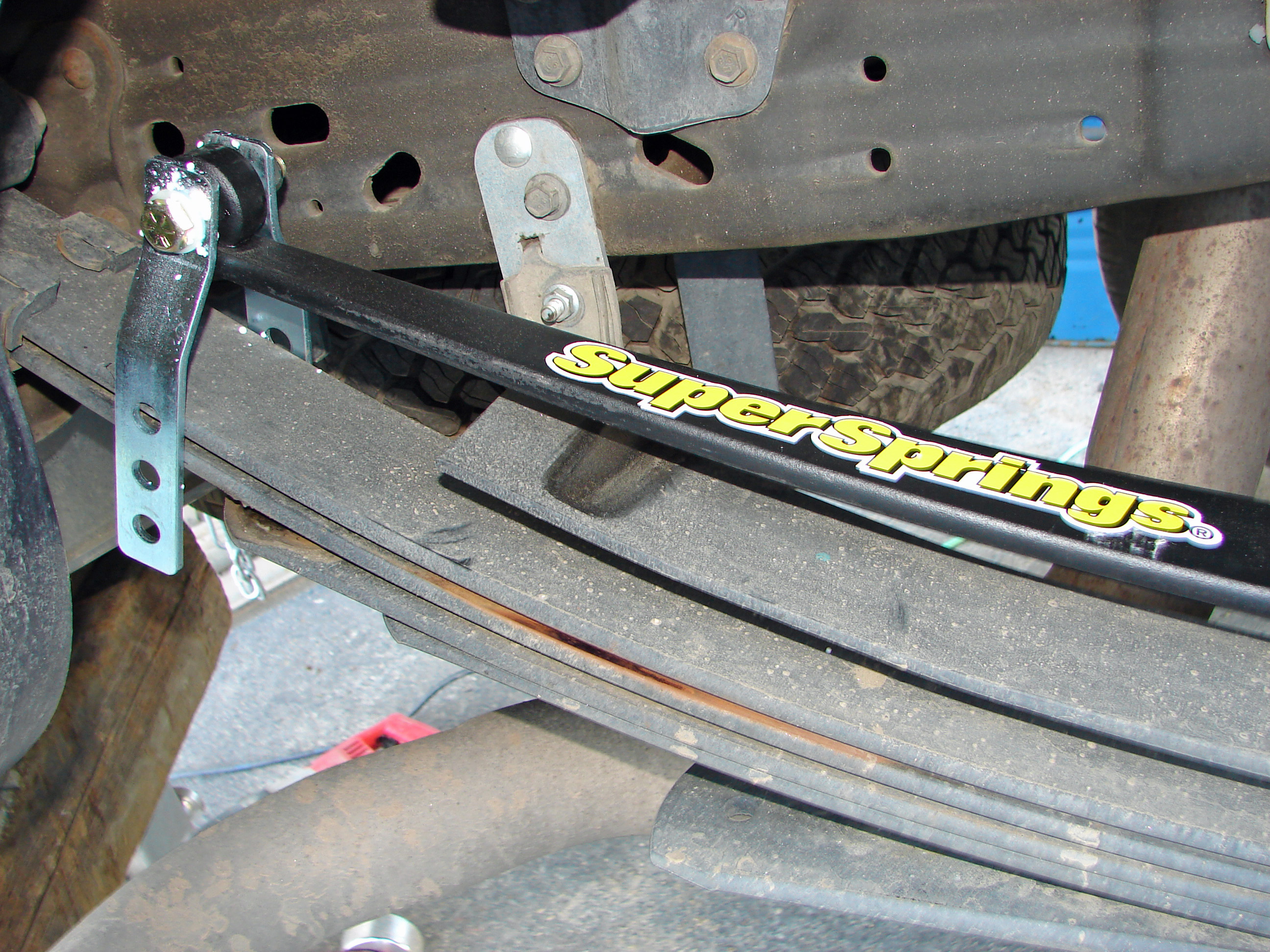 Quot Overload And Stabilizing Leaf Springs Are Supersprings