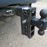 Geny adjustable truck receiver coupler