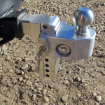 Weigh-Safe adjustable receiver hitch