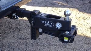 Weigh-Safe aluminum adjustable receiver hitch tongue weight scale