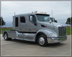Medium duty truck or heavy duty